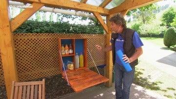 'Bricomanía' construye un mueble-bar de interior o exterior