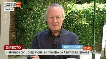 """Josep Piqué: """"Hay que repensar la idea de Europa como proyecto político"""""""