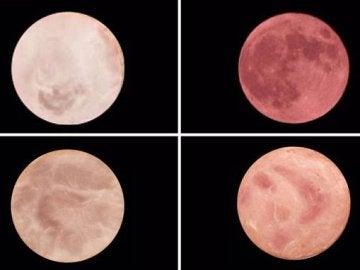 ¿Cuál de estas fotos corresponde a la luna?