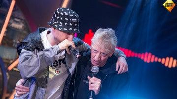 Enrique San Francisco canta un tema de rap junto a Pablo Motos en 'El Hormiguero 3.0'