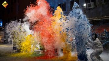 Aprende a hacer nubes de colores