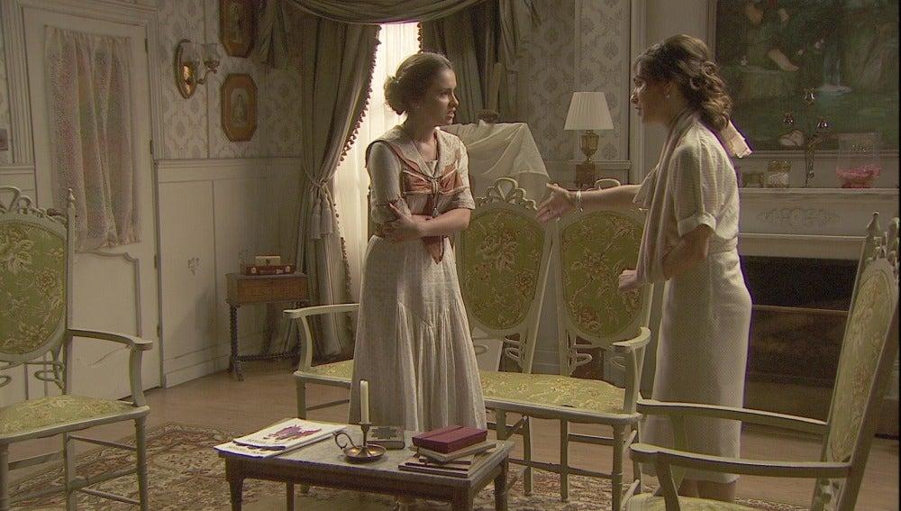 Beatriz se niega a sentarse a hablar con Hernando