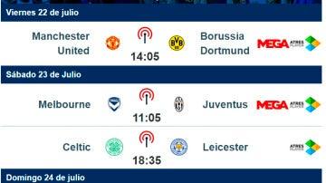 Calendario International Champions Cup