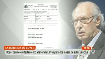 Miguel Boyer cambió su testamento a favor de Isabel Preysler tras sufrir un ictus