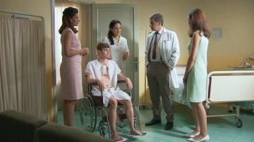 Sofía conoce al paciente del falso trasplante