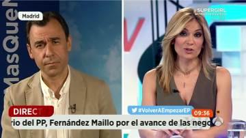 """Maíllo: """"El PP no tiene ningún acuerdo con un grupo independentista ni lo va a tener"""""""