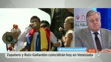 """Leopoldo López se emociona de nuevo en 'Espejo Público': """"Estamos sumamente agradecidos al Gobierno de España"""""""