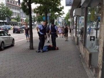 Detenido un hombre en Alemania tras matar a machetazos a una mujer