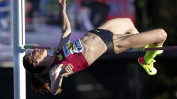 Ruth Beitia suma 27 Campeonatos de España