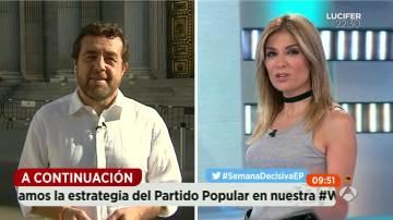"""Gutiérrez: """"Es curioso que Pedro Sánchez esté desaparecido en una situación como ésta"""""""