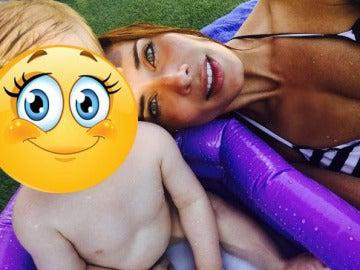 El hijo pequeño de Pilar Rubio ha heredado los mismos ojazos que su madre