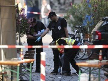 El terrorista sirio que se hizo estallar en Alemania juró lealtad a Daesh en un vídeo