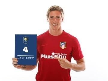 Fernando Torres, delantero del Atlético de Madrid