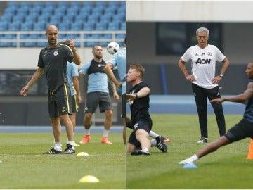 Pep Guardiola vs José Mourinho