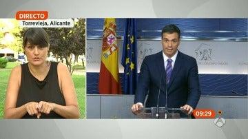 """González Veracruz: """"Es surrealista e impresentable que Rajoy acepte formar Gobierno en diferido"""""""