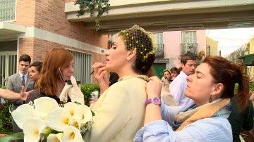 Nos colamos en la boda de Adela y Tomás