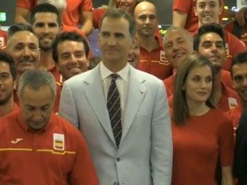 """Felipe VI, a los atletas españoles: """"Sois los mejores embajadores de España"""""""
