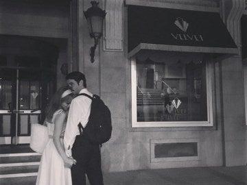 Marta Hazas y Javier Rey se despiden de Velvet