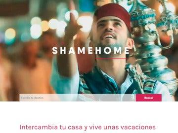 Shamehome, web de refugiados