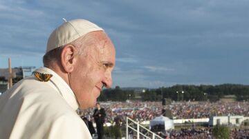 El papa Francisco en la JMJ en Cracovia.