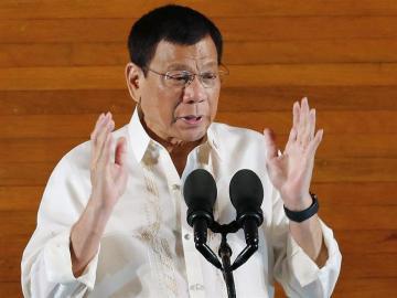 El presidente filipino Rodrigo Duterte.