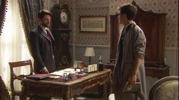 Hernando, preocupado por Beatriz y Matías