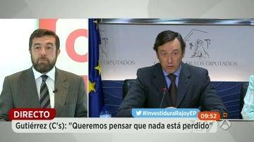 """Ciudadanos insiste en que el PSOE """"no puede dar más tiempo la espalda"""" a su partido y al PP"""