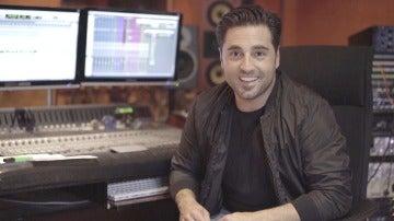 Así se grabó el nuevo tema de 'Amar es para siempre' interpretado por David Bustamante