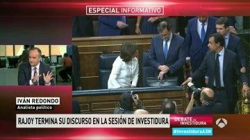"""Iván Redondo: """"En su discurso Rajoy ha recordado al de 2008, quiere estabilidad"""""""