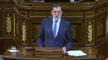 """Mariano Rajoy: """"España necesita un gobierno basado en acuerdos"""""""