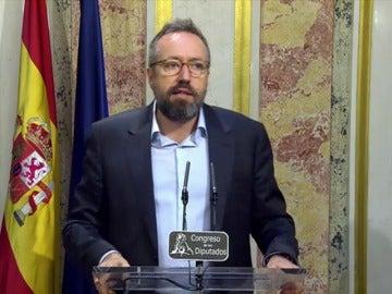 Girauta muestra su sorpresa ante la falta de fe de Mariano Rajoy para obtener la investidura