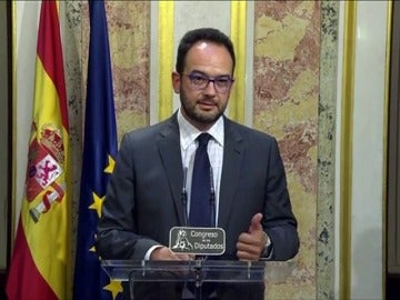 """Hernando: """"Ha sido un discurso de un político cansado"""""""
