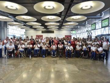 El equipo paralímpico español pone rumbo a Río de Janeiro