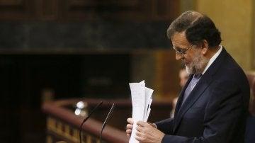 Mariano Rajoy pierde la primera votación de investidura por 180 votos en contra