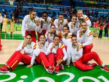 Ahora ellas son la generación de oro del baloncesto español
