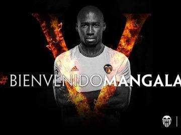 Mangala, nuevo jugador del Valencia