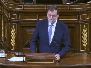 "Rajoy: ""Si yo soy malo, usted es pésimo"""