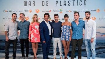 Rueda de prensa 'Mar de Plástico' en el FesTVal