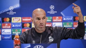 """Zidane: """"Yo no soy tonto y Cristiano es inteligente; estamos aquí para lo mismo"""""""