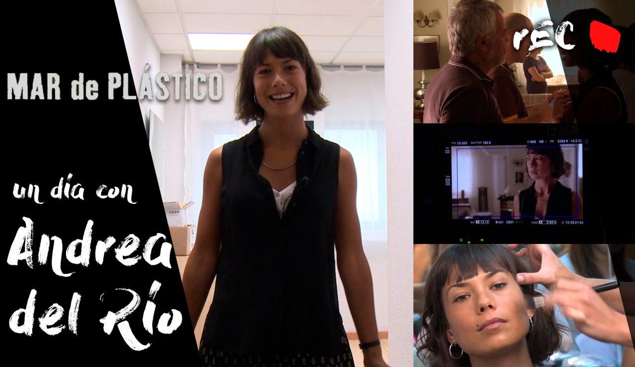 Un día con - Acompañamos a Andrea Del Río en la grabación de 'Mar de Plástico'