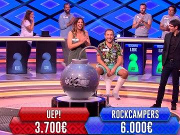 Duelo en la cumbre entre 'Uep!' y 'Rockcampers'