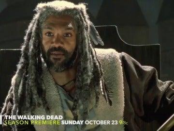 El Rey Ezekiel protagoniza el avance de 'The Walking Dead'
