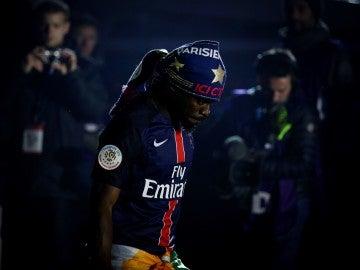 Serge Aurier, lateral izquierdo del PSG