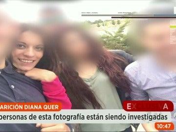 Los agentes investigan a personas del ámbito más cercano de Diana Quer