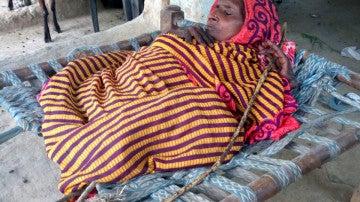 Shanti Devi, la anciana que mide 60 centímetros