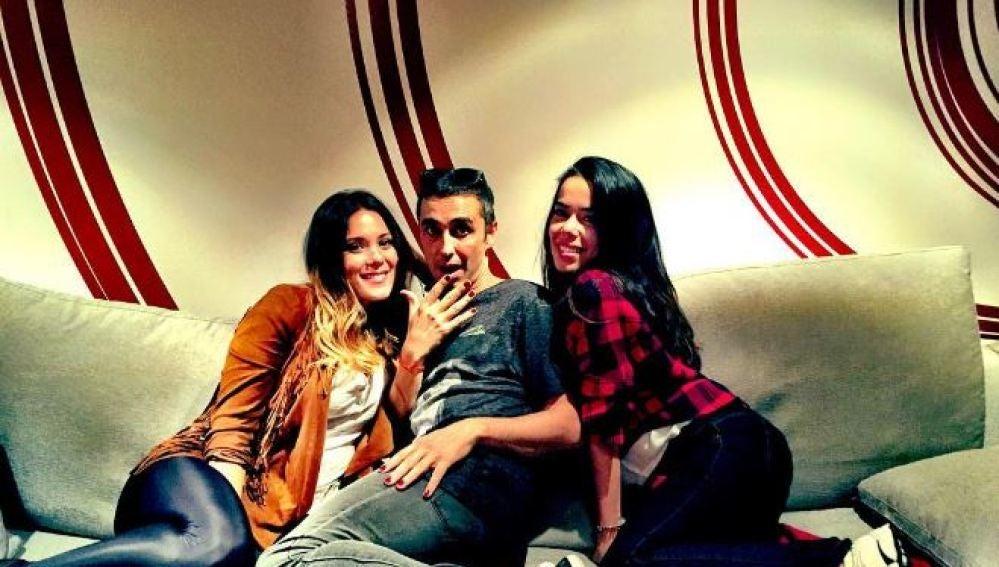 Canco Rodríguez, Lorena Gómez y Beatriz Luengo