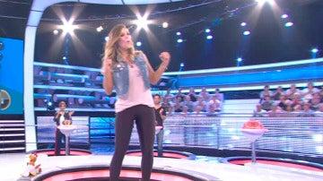 Lorena Gómez 'se carga' a la concursante central de 'Ahora Caigo'
