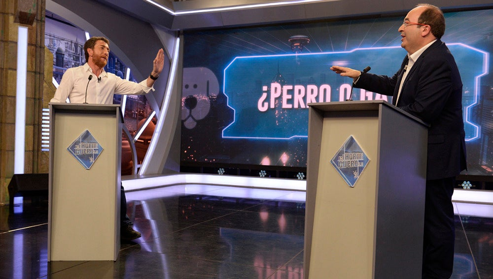 El debate de Miquel Iceta y Pablo Motos en 'El Hormiguero 3.0'