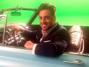 Nos colamos en el rodaje del videoclip de Bustamante para la sintonía de 'Amar es para siempre'