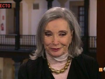"""Núria Espert, sobre el reconocimiento del teatro: """"Falta que los políticos piensen que el teatro y la cultura son pilares para ser alguien en el mundo"""""""